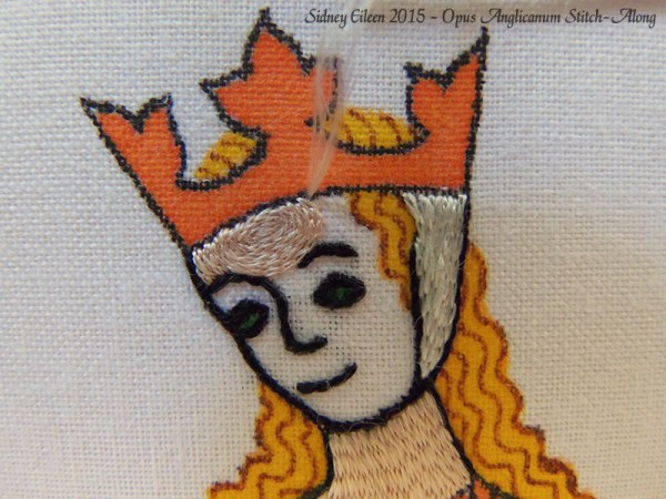 Opus Anglicanum Stitch-Along 086, by Sidney Eileen
