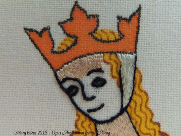 Opus Anglicanum Stitch-Along 087, by Sidney Eileen