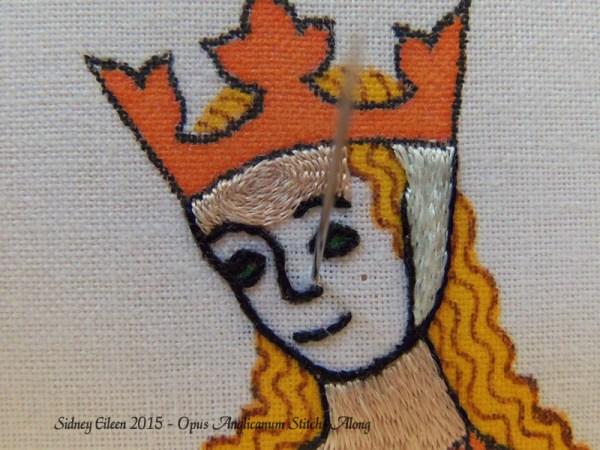 Opus Anglicanum Stitch-Along 088, by Sidney Eileen