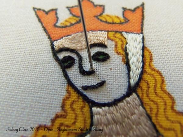 Opus Anglicanum Stitch-Along 089, by Sidney Eileen
