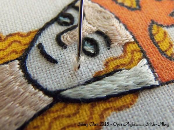 Opus Anglicanum Stitch-Along 103, by Sidney Eileen