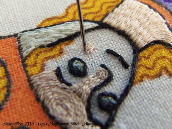 Opus Anglicanum Stitch-Along 108, by Sidney Eileen