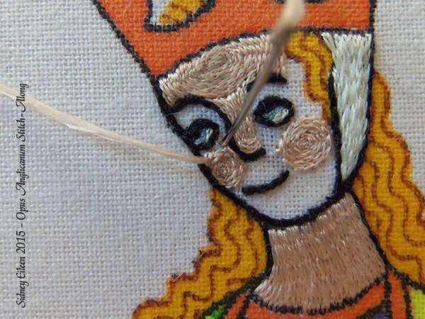 Opus Anglicanum Stitch Along - 123, by Sidney Eileen