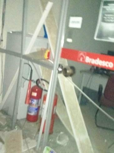 Bradesco foi atacado em Serra Negra do Norte