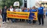 Alunos e professores do Colégio Diocesano Seridoense participam da mobilização em Caicó