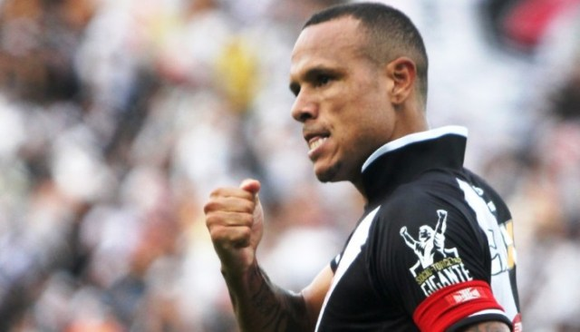 Luiz Fabiano marcou um dos gols da vitória do Vasco sobre o Fluminense Foto Paulo Fernandes CR Vasco da Gama