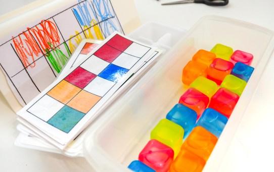 冰磚-色彩配對遊戲