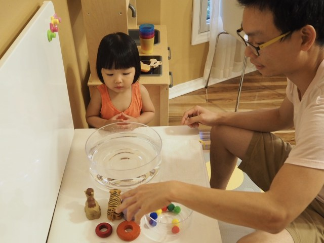 寶寶版浮力遊戲 Buoyancy Game for toddler