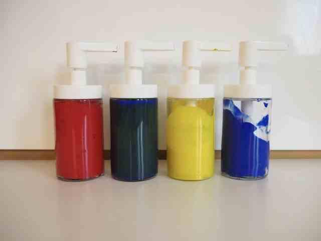 可水洗幼兒彩繪顏料