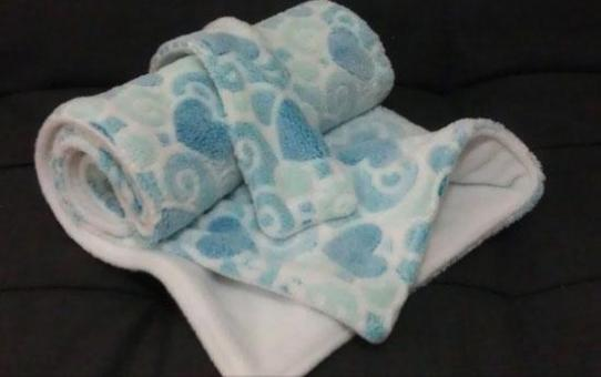 手作寶寶小毛毯 handmade baby blanket