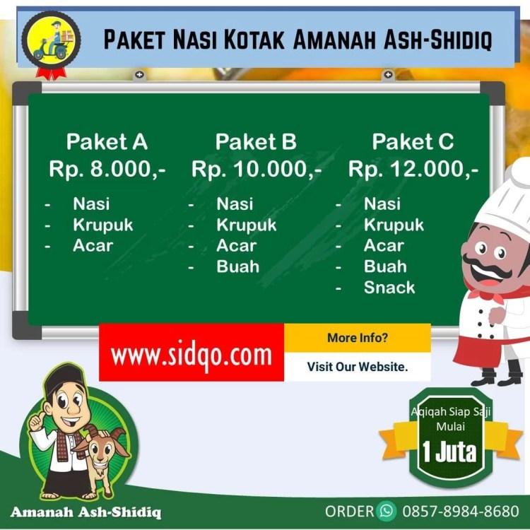 Paket Aqiqah di Prambanan Klaten