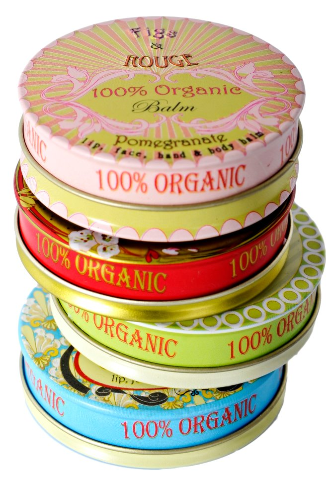 fig and rouge organic lip balm