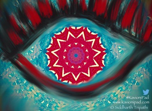 When Eyes look like black roses, We need #Azaadi from them