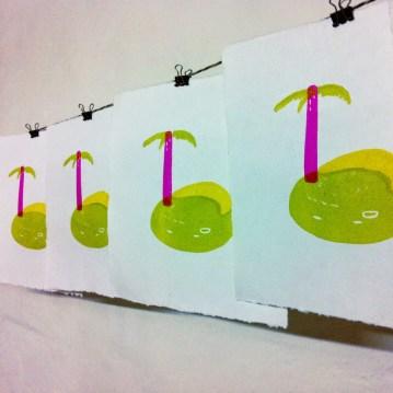 printing disco aloha 2014