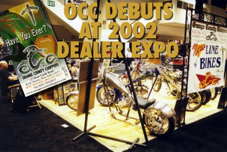 in 2002 occ crashed the v-twin party