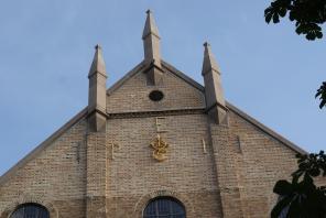 Front der Kathedrale von Oslo