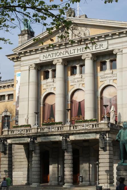 Außenansicht Nationaltheater Oslo