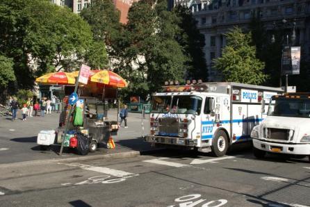 Hotdog-Wagen New York