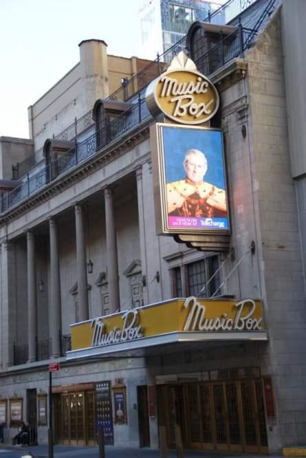 Music Box Theatre 45th Street New York