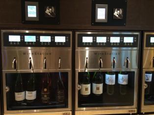 Kostenpflichtige Weinstation Weite Welt Restaurant AIDAprima Aussehen Bilder