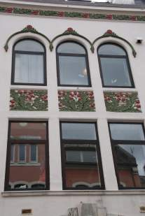 Floral Ornamente Haus Alesund