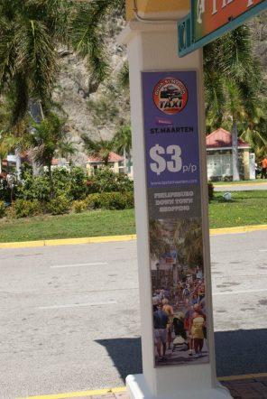 Taxi zu Philipsburg Sint Maarten