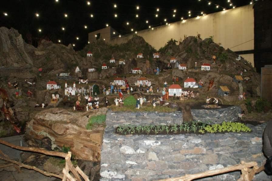 Miniatur Dorf Funchal Madeira