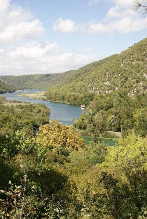 Nationalpark Krka Kroatien Wald See