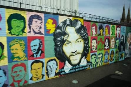 Peace Line Belfast