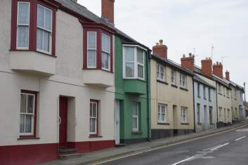 High Street in Fishguard