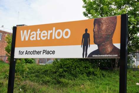 Bahnhof Waterloo Liverpool England