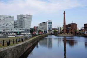 Albert Dock Liverpool Fluss