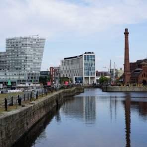 Albert Dock Liverpool Fluss