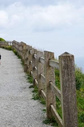 Wanderweg Kreidefelsen Dover