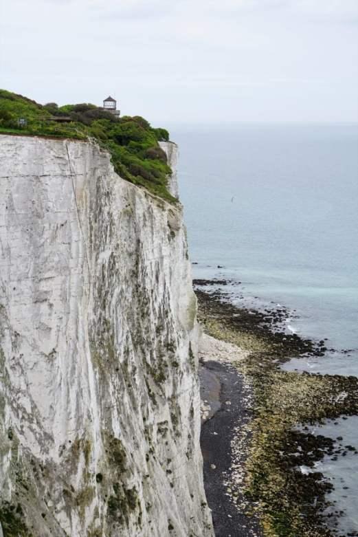 Die Kreidefelsen von Dover Meer Wiese Ausblick Panorama white cliffs