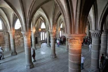 Rittersaal Mont-Saint-Michel Abtei