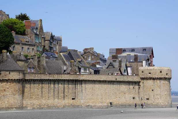 Stadtmauer von Mont-Saint-Michel