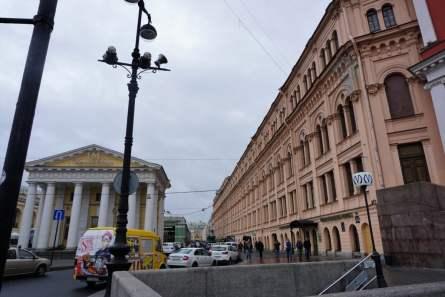 Newski-Prospekt Metroeingang