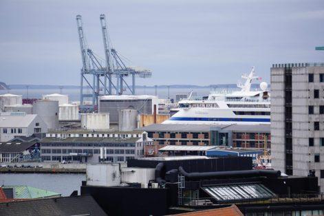 Größter Containerhafen Dänemarks Aarhus