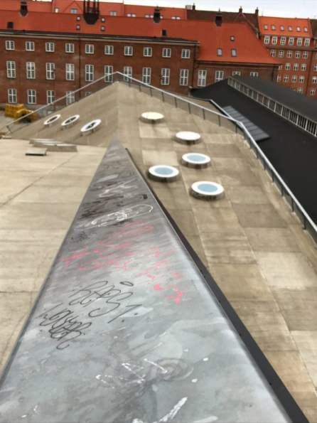 Verbindungsstück zwischen den Hallen Aarhus
