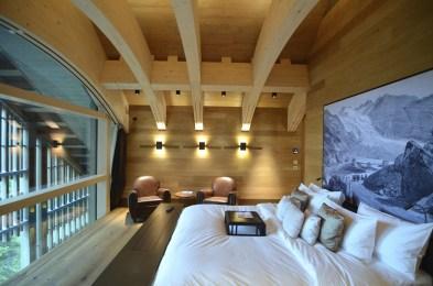 Chambre 1 - Le Chedi Andermatt - Spectaculaire hôtel - Hôtel, Suisse