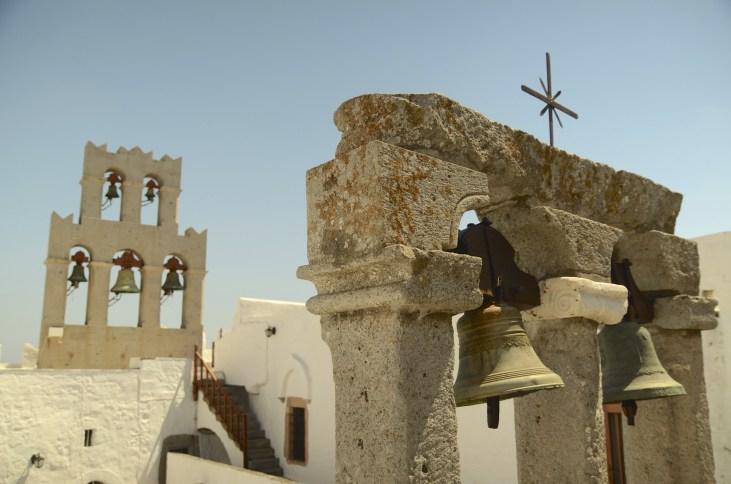 Cloches, Architecture - Patmos - 3 îles grecques - Destination, Grèce