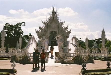 2-23 - Le temple blanc - thailande, asie, a-faire