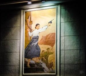 affiche armee retro - pyongyang - Coree du Nord, l'envers de la medaille - Asie, Coree du Nord