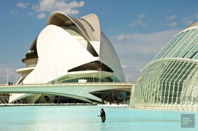 Architecture bassin - Cité des arts et des sciences - Mon coeur Valence - Europe,Espagne