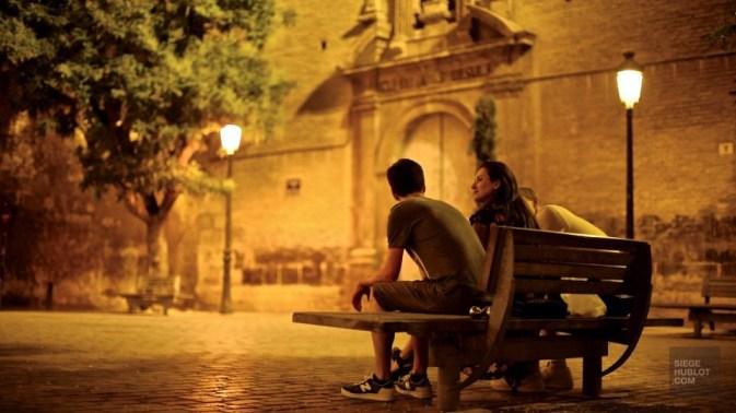 Banc parc - Barrio Del Carmen - Mon coeur Valence - Europe,Espagne