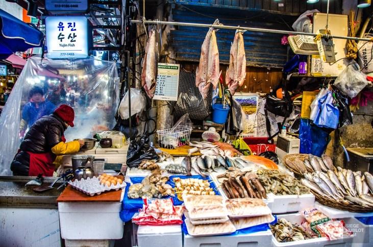namdaemoun poisson œuf - Seoul - Un petit saut aux Olympiques - Asie, Corée du Sud