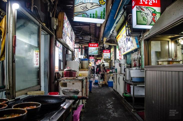 namdaemoun restaurant ruelle - Seoul - Un petit saut aux Olympiques - Asie, Corée du Sud