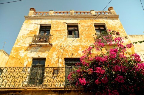 Devanture maison - Paros - Les îles grecques - Europe, Grèce
