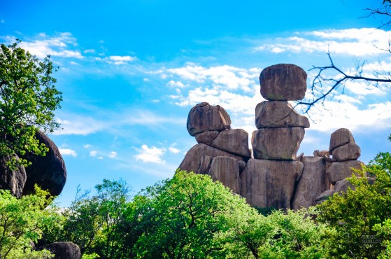 formation rocheuse - parc national de matobo - Zimbabwe, les chutes Victoria et plus encore! - afrique, zimbabwe